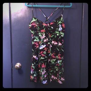 X-back dress with POCKETS